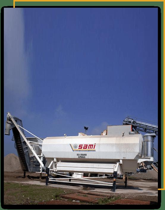 Cement storage Machine