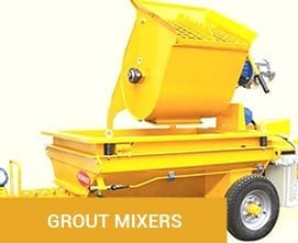 Grout Mixers