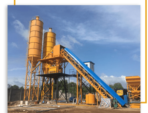 The Benefits Of A Mobile Concrete Batching Plant On Construction