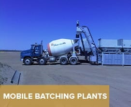 Mobile Batching plants